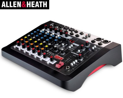 ALLEN&HEATH(A&H)/アレン&ヒース(アレヒ) アナログミキサー(USBインターフェース搭載) ZEDi-10FX