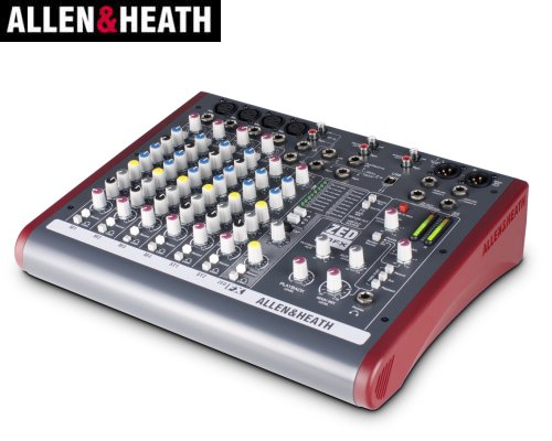 ALLEN&HEATH(A&H)/アレン&ヒース(アレヒ) アナログミキサー(USBインターフェース搭載) ZED-10FX
