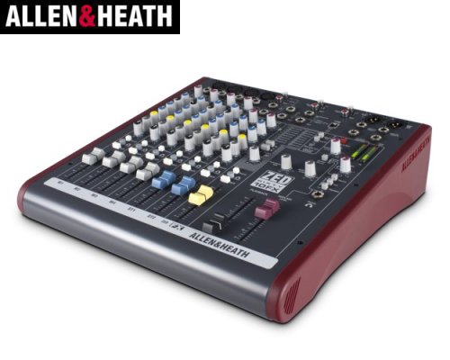 ALLEN&HEATH(A&H)/アレン&ヒース(アレヒ) アナログミキサー(USBインターフェース搭載) ZED60-10FX