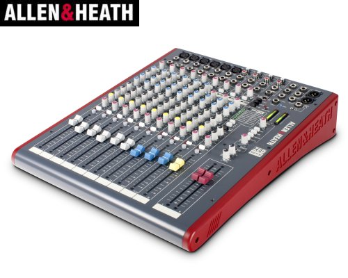 ALLEN&HEATH(A&H)/アレン&ヒース(アレヒ) アナログミキサー(USBインターフェース搭載) ZED-12FX