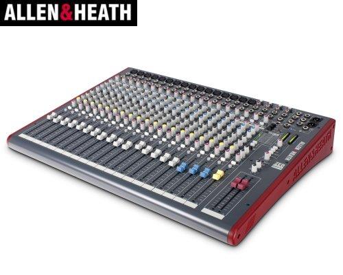 ALLEN&HEATH(A&H)/アレン&ヒース(アレヒ) アナログミキサー(USBインターフェース搭載) ZED-22FX