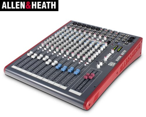 ALLEN&HEATH(A&H)/アレン&ヒース(アレヒ) アナログミキサー(USBインターフェース搭載) ZED-14