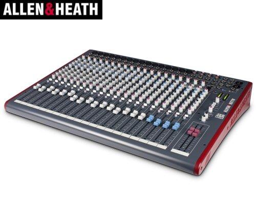 ALLEN&HEATH(A&H)/アレン&ヒース(アレヒ) アナログミキサー(USBインターフェース搭載) ZED-24