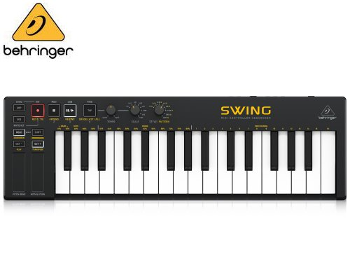 BEHRINGER(ベリンガー)USB MIDIキーボードコントローラー SWING