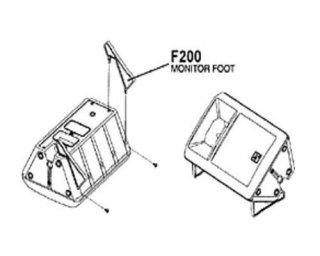 EV エレクトロボイス SX300用 フロアモニター用アタッチメント F200