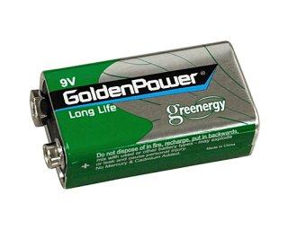 9V  006P マンガン電池 1604SP 1個