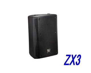 EV エレクトロボイス ZX3-60B ブラック ※指向性(水平×垂直):60°×60°
