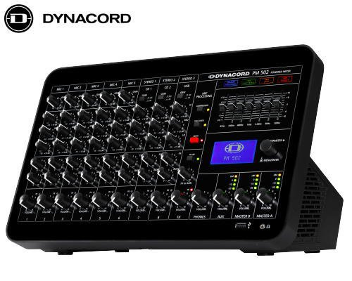DYNACORD ダイナコード PM 502 コンパクトパワードミキサー