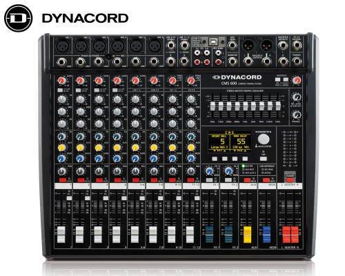 DYNACORD ダイナコード アナログミキサーCMS 600-3 (ノンパワード)