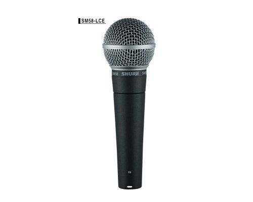 SHURE ボーカルマイクロホン  SM58LCE 正規輸入品