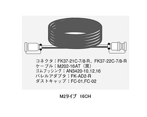 CANARE 16CH/10mマルチケーブル/M2タイプ