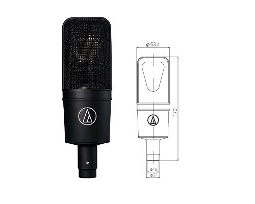 audio-technica  AT4040  オーディオテクニカ