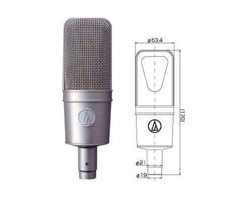 audio-technica  AT4047-SV  オーディオテクニカ