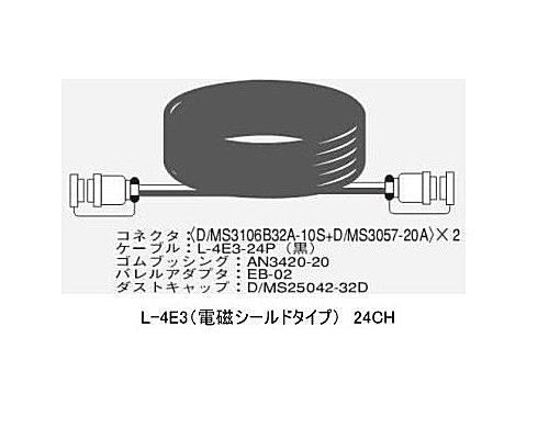 CANARE 24CH/30mマルチケーブル/電磁シールドタイプ