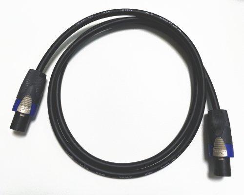 【2芯仕様】 CANARE 4S8仕様 スピーカーケーブル スピコン 1M