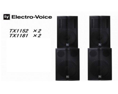 EV  エレクトロボイス  Tour Xシリーズ   Package0