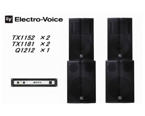 EV  エレクトロボイス  Tour Xシリーズ   Package1
