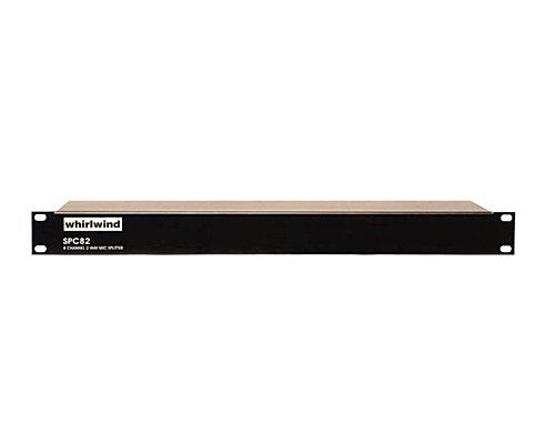 whirlwind 8chパッシブラインスプリッター・固定設備用 1U 1 IN 2 OUT(1x Dir Out, 1x Iso Out) スクリューターミナル I/O  SPC82L