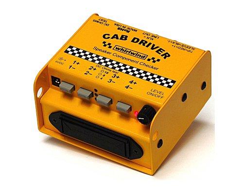 whirlwind ピンクノイズジェネレータ内蔵スピーカーチェッカー CAB DRIVER