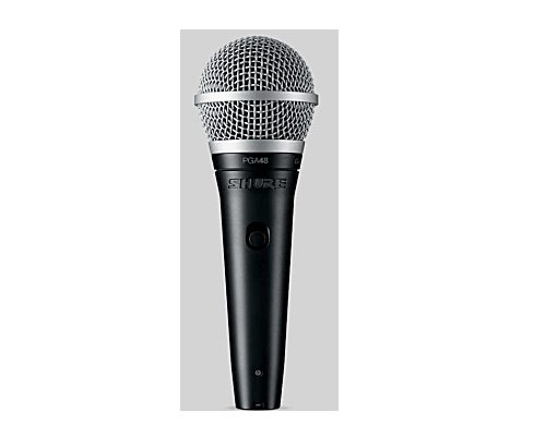 SHURE カーディオイド・ダイナミック・ボーカルマイクロホン PGA48-QTR 正規輸入品
