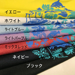 MIKURA ISLAND ドライTシャツ(ポリ100%)