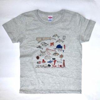 【笑太郎】深海Tシャツ(綿99%・ポリ1%)