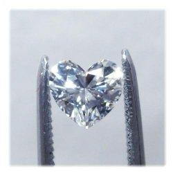 ダイヤモンドハートシェイプ0.409ct