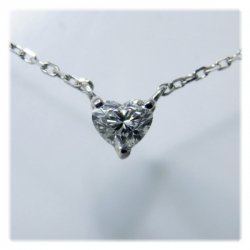 K18WGダイヤモンドハートシェイプPD0.15ct