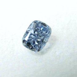 ブルーダイヤモンド ルース D 0.11ct Fancy Intense Blue SI1