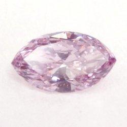 ピンクダイヤモンドルース PD 0.194ct 中央宝石研究所鑑定書付 Fancy Puplish Pink-SI2