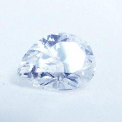 ペアシェイプダイヤモンドルース D 0.327ct D-SI1 中央宝石研究所ソーティング付