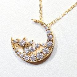 K18YG C-LINE ダイヤモンドネックレス D 0.41ct 45cm