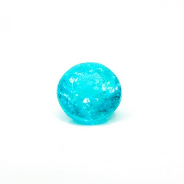 パライバトルマリンルース ブラジル バターリア産 PA 0.229ct 中央宝石鑑別分析書付