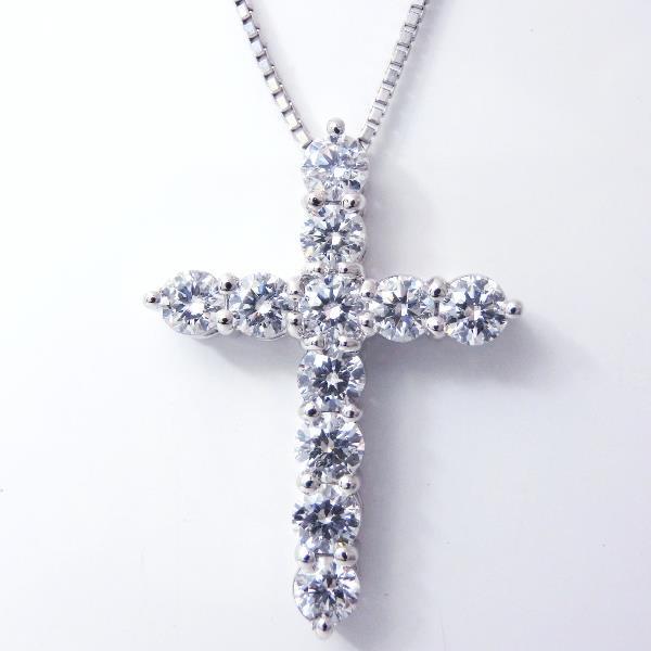 特選 H&Cダイヤモンドネックレス D 2.03ct Pt850/900