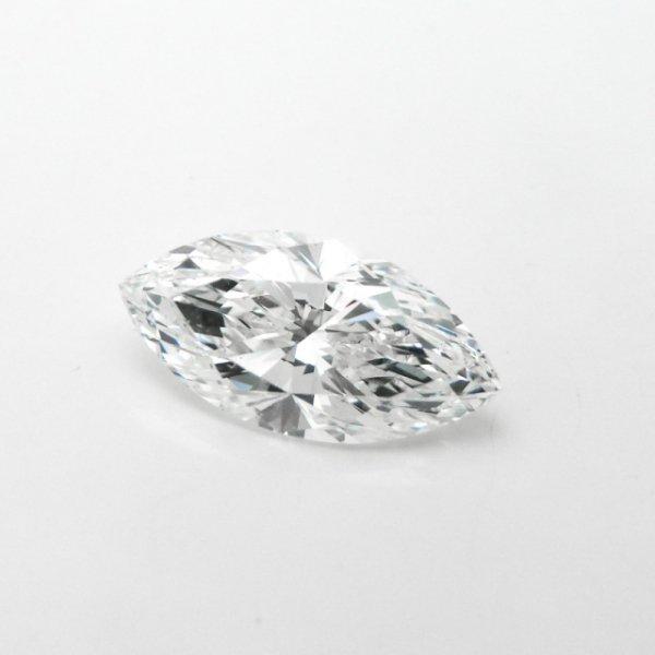 マーキスダイヤモンドルース D 1.406ct H-VS2 中央宝石研究所鑑定書付