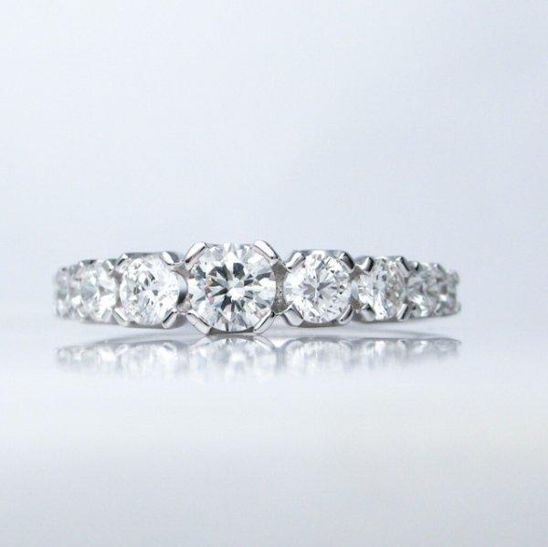 ダイヤモンドリング D 0.91ct K18WG BOUTIQUE LINE