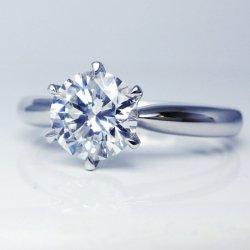 ptダイヤモンドリング1.052ct