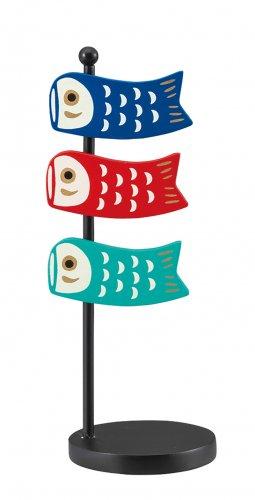 五月飾り/鯉のぼりクリップ&スタンド/ZTS-17104/デコレ/concombre