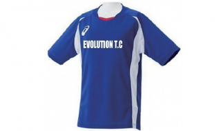 Evolution Track Clubロゴ入りTシャツ(アシックス製)