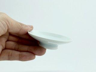 竜山窯 青白磁豆皿