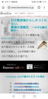 extremesalt(メガソルト)HP