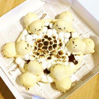 【冷凍発送】ネコ会議のチョコピザパン