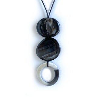 N-189b BHうつろいネックレス黒