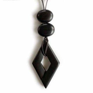 N-196 菱形丸二ネックレス