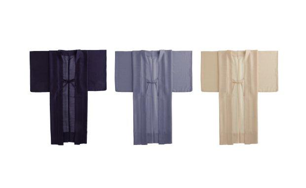 「くるり×七緒」シンプル薄羽織