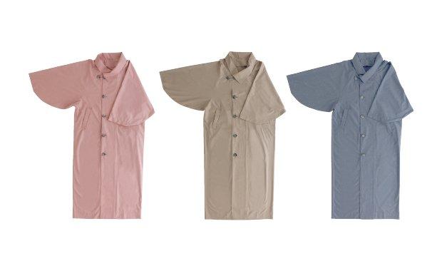 「おとづき商店」身丈が選べる一部式雨コート