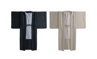 「おとづき商店×七緒」シンプルウール羽織