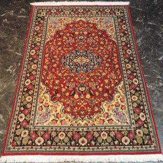 ペルシャ絨毯 Sサイズ(156cm×105cm) クム産  982