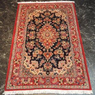 ペルシャ絨毯 Sサイズ(165cm×106cm) クム産  4020