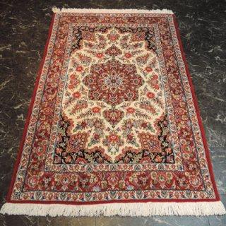 ペルシャ絨毯 Sサイズ(180cm×117cm) クム産  1269